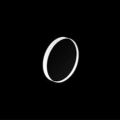 BaF₂ Circular Windows
